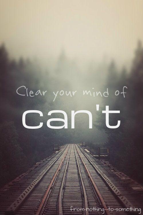 'Du kannst alles schaffen! #thatspositivenergy'
