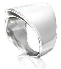Ring by Logbar. #wearable technology