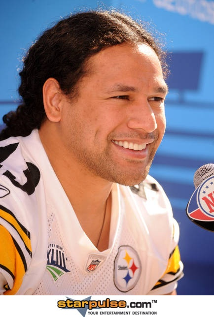 Troy Polamalu/ love his hair