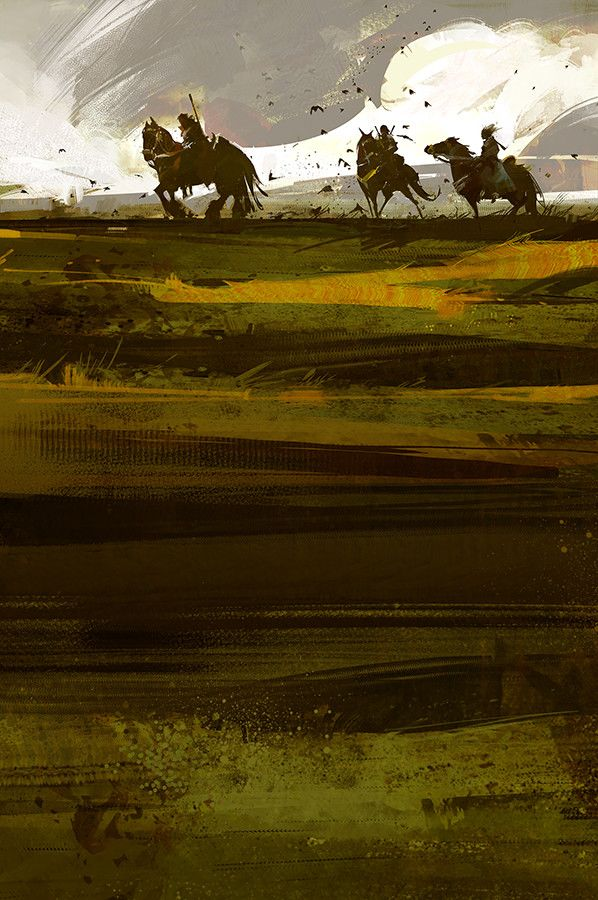 ArtStation - BEYOND REDEMPTION cover art, richard anderson