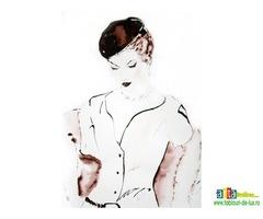 Figuration-Féminine - Anunturi Arta www.tablouri-de-lux.ro - Tablouri, Materiale pictura, picturi, grafica digitala, antichitati, cadouri