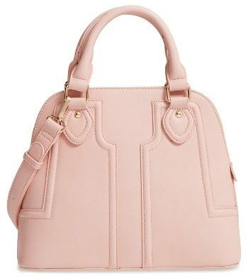 Sole Society Dome Satchel - Pink