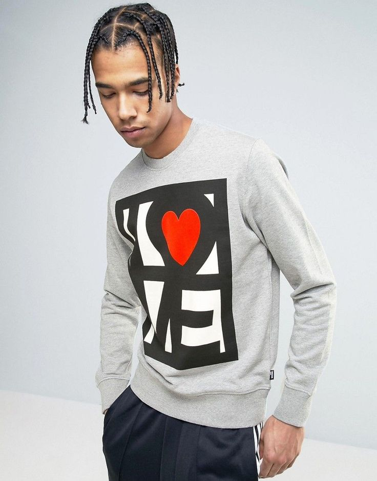 Get this Love Moschino's hooded sweatshirt now! Click for more details. Worldwide shipping. Love Moschino Stamp Logo Sweater - Grey: Sweatshirt by Love Moschino, Soft-touch sweat, Crew neck, Logo design, Fitted trims, Regular fit - true to size, Machine wash, 100% Cotton, Our model wears a size Medium and is 188cm/6'2 tall. Franco Moschino grew up in a small town outside of Milan, counteracting his provincial boredom with drawing. Encouraged to take up design by Gianni Versace, Moschino…