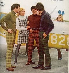 1960's mens checked trousers - Google Search