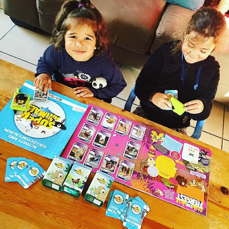 My girls are crazy about the @picknpay #superanimals campaign & after…