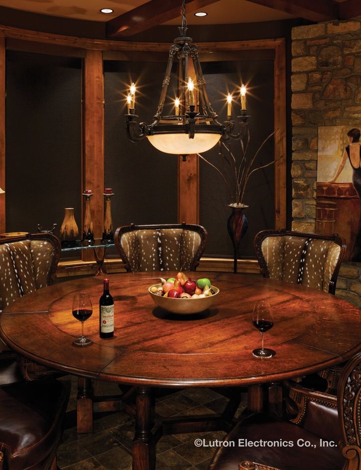 Entertain Your Guests In The Perfect Light. Http://www.lutron.
