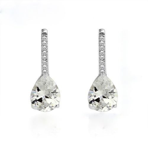 Crown Stefana Store - Teardrop Crystal Accent Earrings, €22.00 (http://www.crownstefana.com/teardrop-crystal-accent-earrings/)