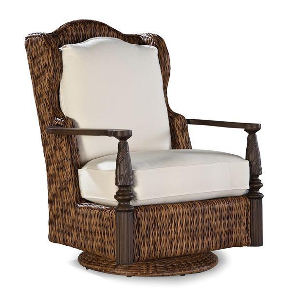 Lane Venture Royal Plantation Outdoor Swivel Glider Lounge Chair
