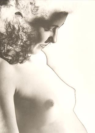 Nude with Golden Lace I Ehm, Josef 1946