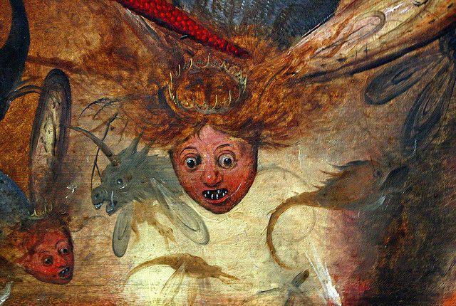 Bruegel the Elder, The Fall of the Rebel Angels