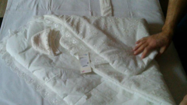 Выписка из роддома конверт одеяло