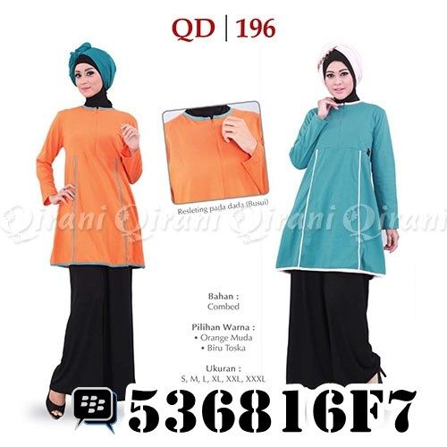 Koleksi Baju Muslim Qirani Dewasa 196. Order via: SMS/Telp: 0856-5502-3555 Whatsapp: +6285655023555 BBM: 5F497666