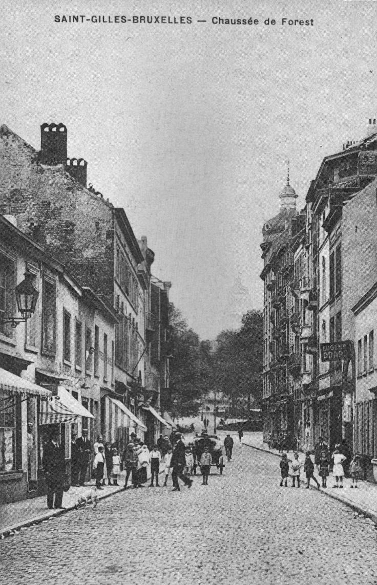 Saint-Gilles - Bruxelles - Chaussée de Forest
