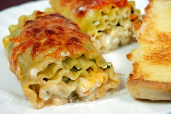 Giadas Lasagna Rolls.  Honestly, I find Giada irritating.  But she makes some delicious looking food.