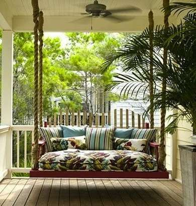 Add a Porch Swing - Front Porch Decorating Ideas - 9 Budget Ways to Revive Yours for Summer - Bob Vila