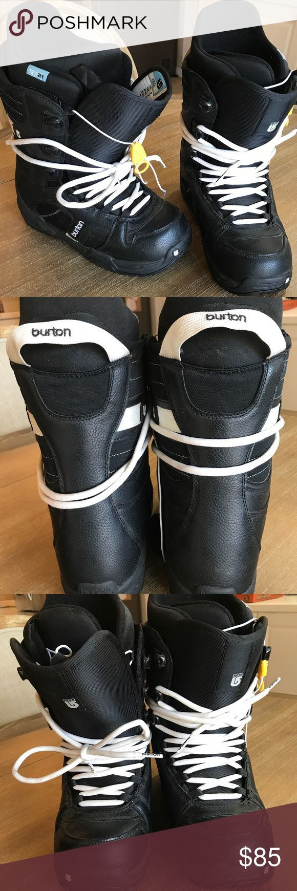 Women's Burton Coco Boots Size 9 Women's Burton Coco Boots size 9. That's snowboard boot sizes (me reular shoe size is 7-7 1/2, snow boots run small so you have to go larger). Worn only 2 times. Excellent condition. Burton Shoes Winter & Rain Boots