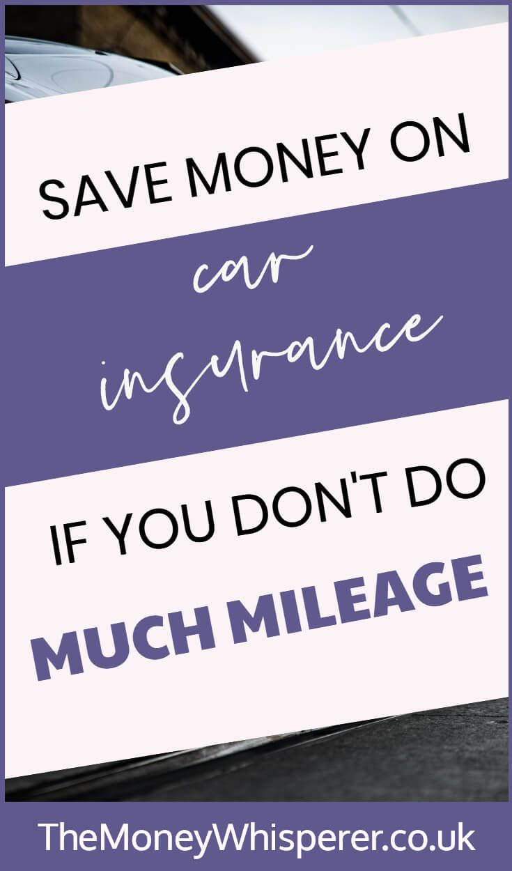 Ad Save Money On Car Insurance If You Don T Do Much Mileage