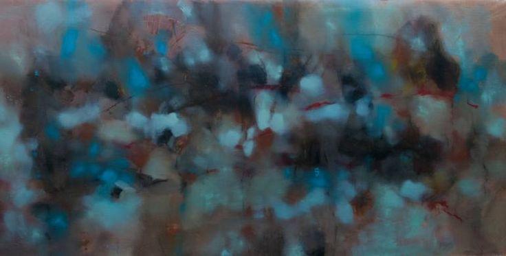Saatchi Art Artist Elio Rosolino Cassara. The music of Venice. Oil on canvas (juta), 200x100 cm, 2015