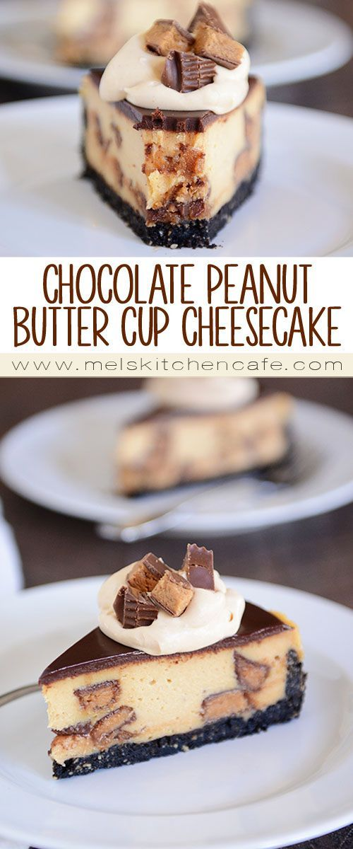 nice Chocolate Peanut Butter Cup Cheesecake