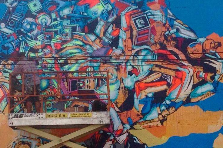 Buscan construir un distrito para el arte callejero en Barrio Colombia | Noticias Caracol #Colombia #Medellin #Streetart for everyone