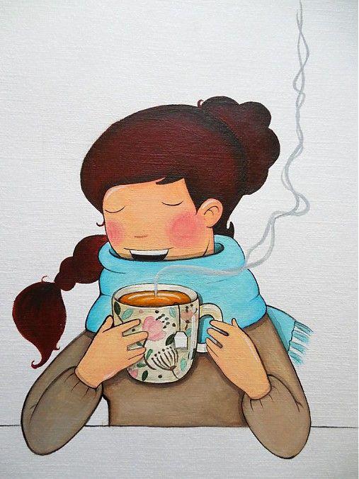 Tea time by Da_Linka - SAShE.sk - Handmade Obrázky