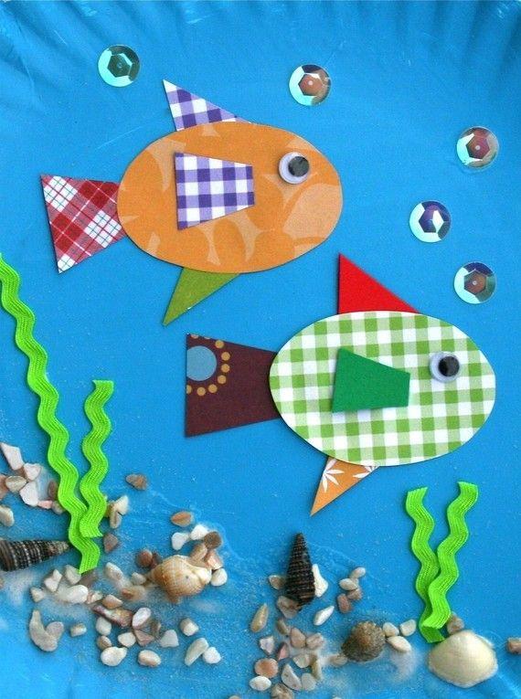 blue bulletin board inspiration...all ocean creature