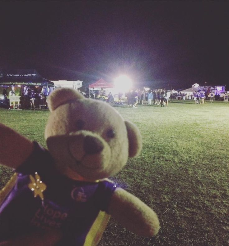 Visiting Jimboomba Relay For Life 2016