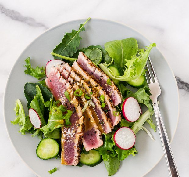 1000+ ideas about Ahi Tuna Salad on Pinterest | Ahi tuna recipe ...
