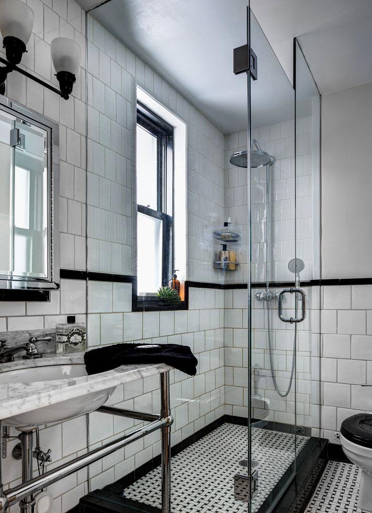 One Singular Sensation Pedestal Sink White Tiles And Sinks