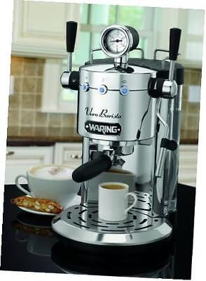 ﹩314.39. pro es1500 professional espresso maker    color - Stainless Steel, manufacturer - Waring Pro, brand - Waring, mpn - ES1500, ean - 0798527631127, upc - 068459124821, Shipping - US Free Shipping, Tax - No Tax, UPC - 068459124821, EAN - 0798527631127