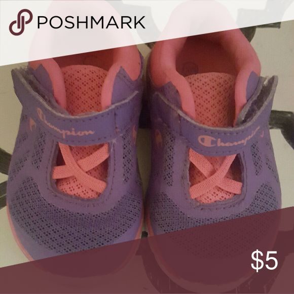 Baby girl champion shoes size 3w Excellent condition. Champion Shoes Sneakers