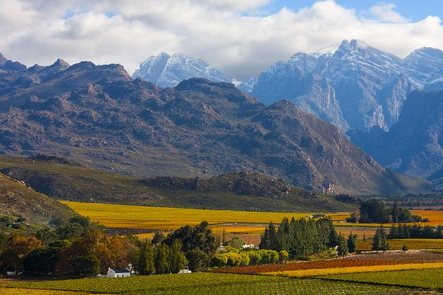 Hex River Valley. South Africa