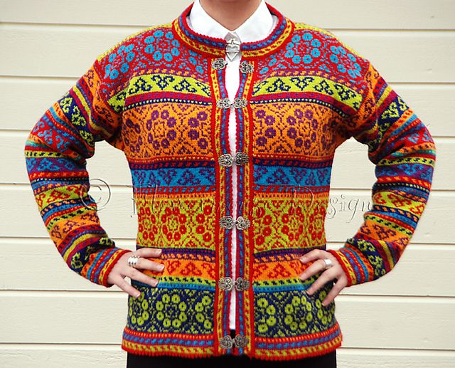 Ravelry: Flowermouse's Jacket Of Colors