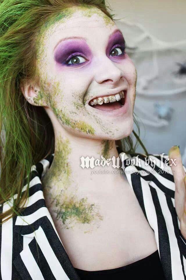 Girl Beetlejuice Makeup D | Costumes To Be Someone Else | Pinterest | Makeup Beetlejuice And ...
