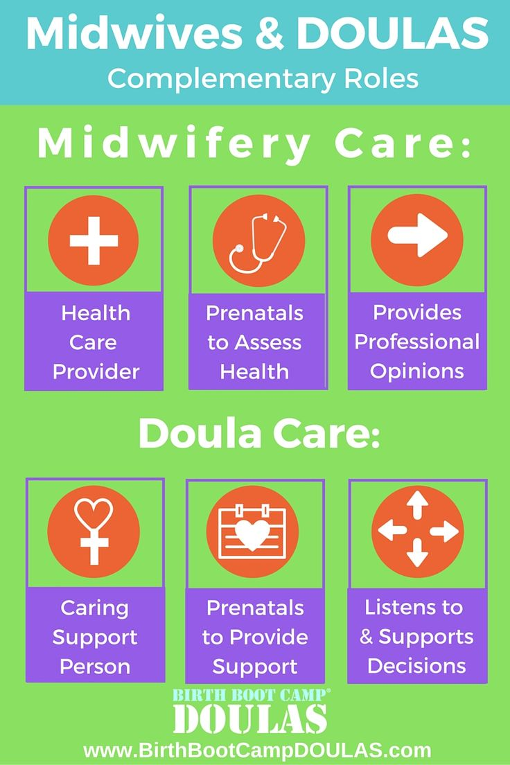 Differences between midwives and doulas; both are awesome #worlddoulaweek #Calgary DOULA #birthbootcampDOULA