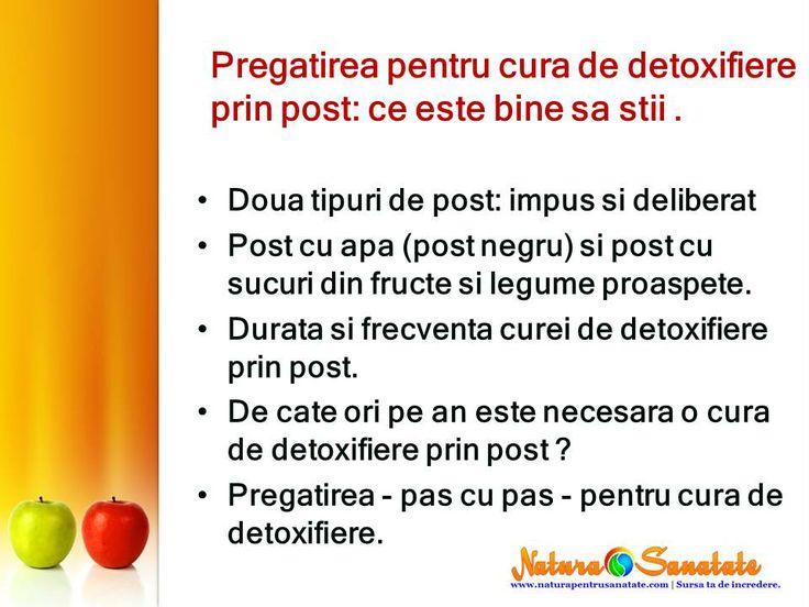 Pregatirea pentru #cura de #detoxifiere prin #post. --> http://naturapentrusanatate.com/pregatirea-pentru-cura-de-detoxifiere-prin-post/