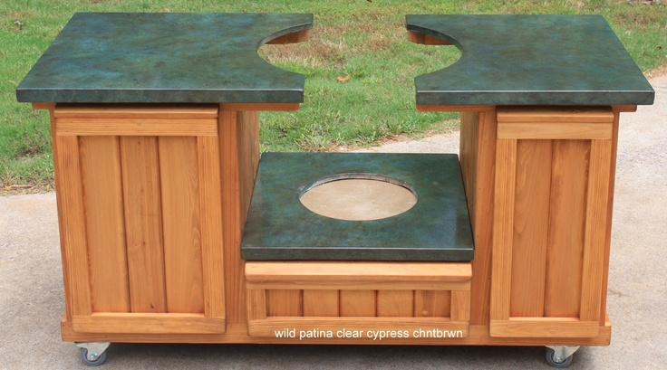 Big Green Egg Table Cabinet