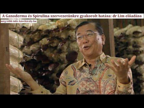 A DXN Ganoderma és DXN Spirulina előnyei: dr Lim előadása