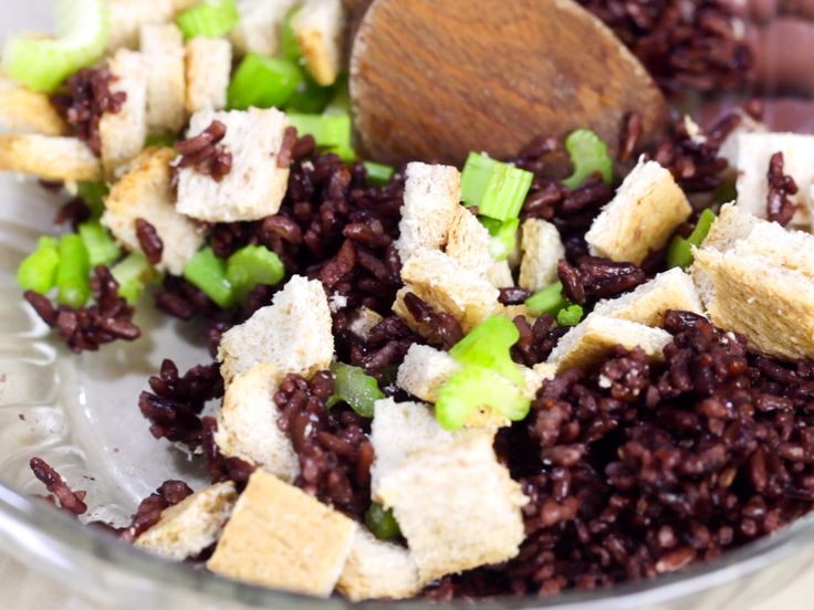 Black rice is a medium-grain rice that is simple to make and easy to use in other recipes. Once cooked, this rice turns a deep purple color and has a nutty flavor with a soft texture. Unlike most rices, black rice does not cook well in a...