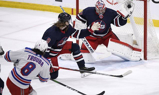Kreider Scores Twice Leads Rangers Past Jets 4 1 National Football League News In 2020 National Football League Nfl News New York Rangers