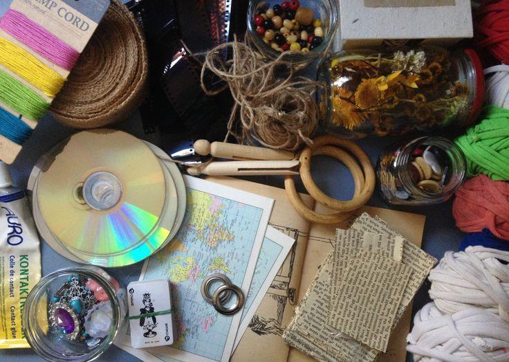 1159 best zero waste images on pinterest zero waste for Hand craft from waste materials