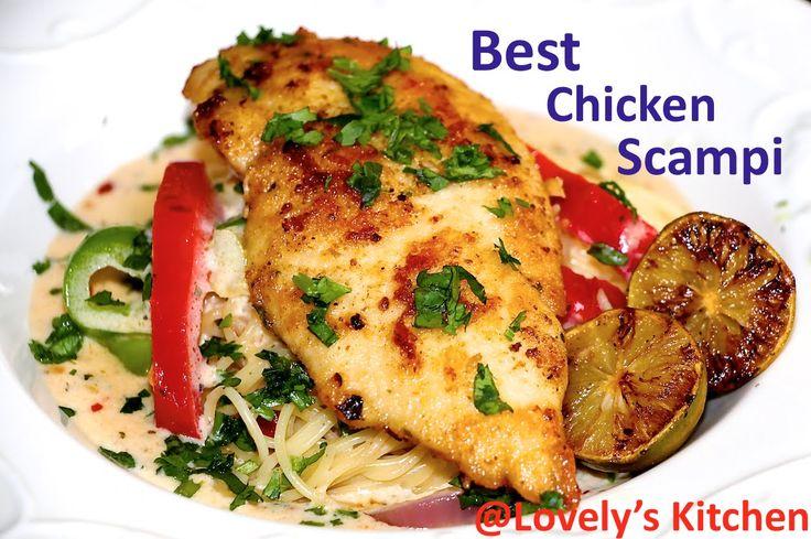 Best Chicken Scampi Olive Garden Style From Lovely 39 S Kitchen Feed Me Pinterest Chicken