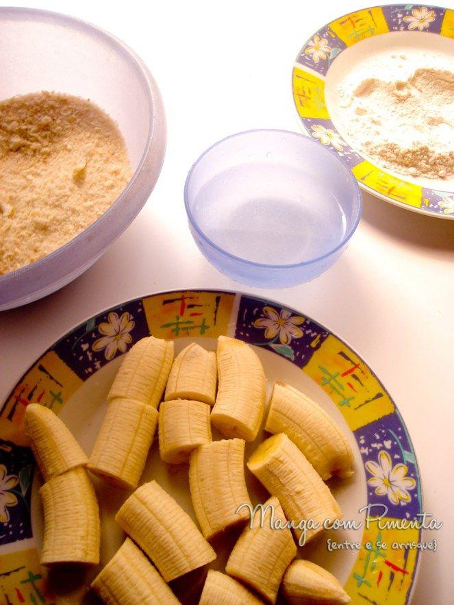 Como fazer banana empanada e frita...