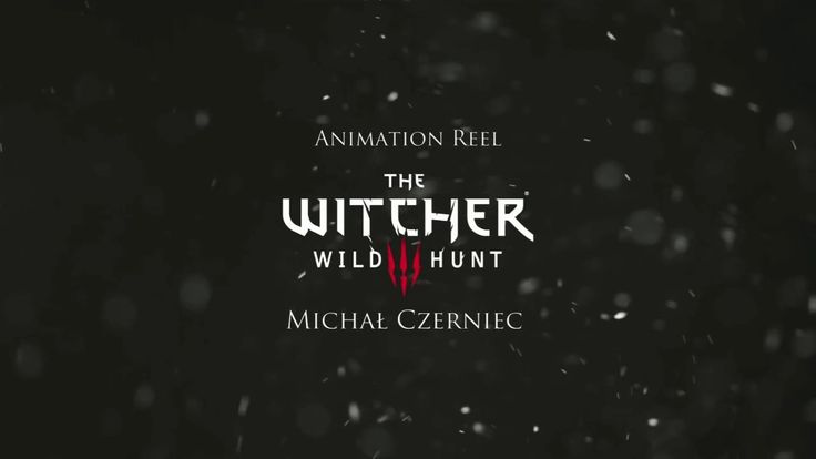 The Witcher 3 Animation Reel