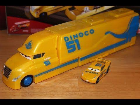 Mattel Disney Cars 3 Cruz Ramirez S Hauler Dinoco Transforming