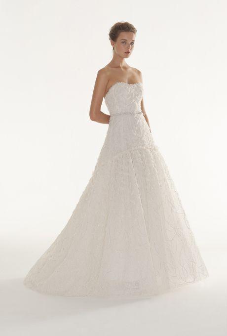 Langner Couture Wedding Dresses - 2013   Bridal Runway Shows   Wedding Dresses and Style   Brides.com : Brides.com