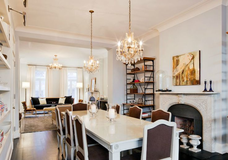1000 ideas about brown dining rooms on pinterest dining for Light blue dining room ideas