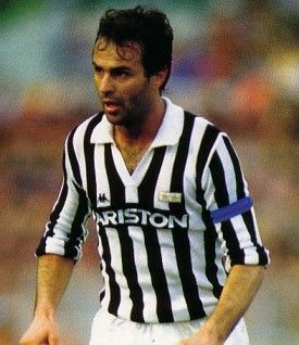 Antonio Cabrini (born 8 October 1957) is an Italian professional football coach currently of Italy women's national and a former player. He has played left-back, mainly with Juventus. He won the 1982 FIFA World Cup with the Italian national team.