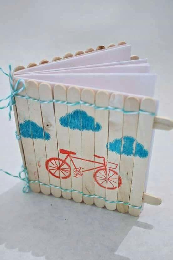 Ice cream stick book                                                                                                                                                                                 More