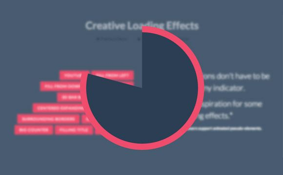 Here is a bunch of amazing CSS loading effects (bars, circles, numbers, etc.) that you can use for your website. A tutorial by Codrops.